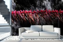 Dress your wall - Wallpaper design / Carte da parati d'autore. Arreda i tuoi spazi con opere d'arte.