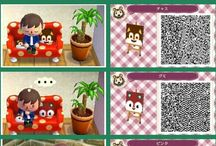 ACNL | QR | other stuff / Any kind of pattern that is not meant to be put outside the house...