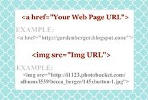 Blog help stuff / Stuff to help with my blog.