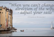 Travel Quotes / Travel Quotes that remind me how enlightening it is to explore the world outside your own backyard and how important it is to live life to the fullest.