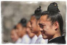 Taoist monks