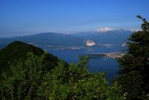 Lago Maggiore cycling / Beautiful Cycling in Northern Italian Lakes District. Lago Maggiore - Piedmont and Lombardy
