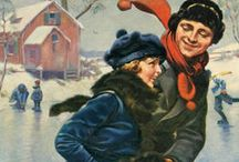 Norman Rockwell Christmas 2 / A Norman Rockwell Christmas for the Ashley Inn, Cascade, Idaho