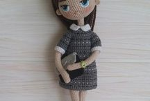 Muñecas amigurumis flinitas / muñecas crochet delgadas- muñecas crochet finitas - muñecas crochet flaquitas- muñecas amigurumis