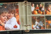 Fall Celebrations Memory Book / Creating a memory book about Fall