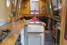 Boat interiors / Inspiration and ideas for making your #narrowboat #widebeam or #cruiser your own