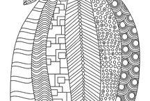 шаблоны для росписи общ