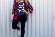Women's Street Style / Casual clothes - my style  Everyday outfits Jeans and t-shirts