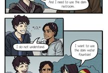 Percy Jackson(and other related books)
