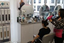 Our Salons / Hair Salons using Aqua Hair Extensions