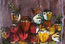 Nazir Ismail / Nazir Ismail born in 1948 in Damascus, Syria. Ismail has taken part in many exhibitions since 1966 in Syria, Beirut, Oman, Cairo, Paris, Zurich and Geneva.