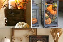 Fall Decor / by Denise Wright