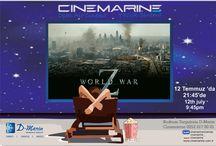 Cinemarine Turgutreis D-marin yazlık sinemada bu cuma