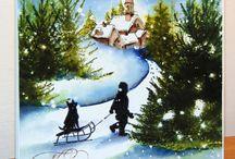 Cards - Winter Scenes