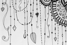 zentangle art pattern