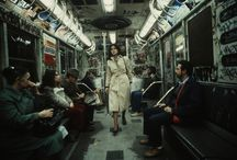 CHRISTOFFER MORRIS // Incredible photos of the New York City subway during the 1980s / Looking back, we can all recall or think about a particular time, in our lives or even in history, that was characterized by not only a peculiar or odd fashion style but also a, now understood as, strange state of mind and way of acting.