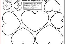 Bulletin boards, templates, and coloring sheets / by Nikki Criswell