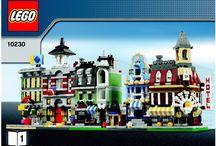 Lego mini modulars