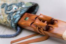 flute bag/case/pouch/tube