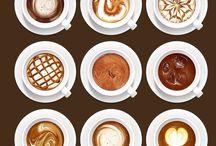 Arte del café