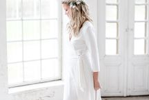 BYPIAS BOHO Bride / Bypias boho bride  Bamboo dress Linen dress www.bypias.com #bamboo #bamboodress #weddingdress #bride #bohobride #bypias #dress #linendress #linen