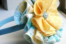 Fabric flowers easy