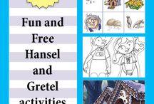 Hansel Y Gretel Actividades