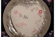 gâteau fiancailles