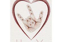 Prick and stitch cards