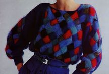 80s / 80's style fashion photo