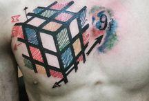 Tattoo / Rabiscos que tenho no corpo ou que ainda farei