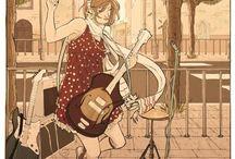 Drawning and stuff / Illustration and Comics made by Maria Scorzelli :)