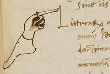 Manuscripts / We love the handwritten word.