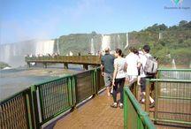Foz do Iguaçú - Iguazu Falls / Foz do Iguaçu é uma das regiões mais visitadas do Brasil, principalmente por abrigar as famosas Cataratas do Iguaçu consideradas umas das sete maravilhas da natureza // Iguazu Falls is a group of about 275 water falls on the Iguazu River, located within the Iguazu National Park, Brazil and Argentina.
