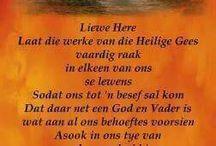 Afrikaans boodskap