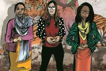 AR Comic Book to empower Acid Attack Survivors