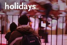 Holiday Travel / Tips and ideas for holiday travel with kids. / by Walking on Travels