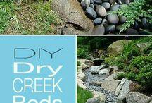 Creek bed ideas
