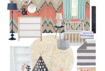 Toddler room ideas / by Michelle Faulkner