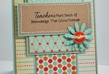 Teacher Cards / by Nancy Pullia