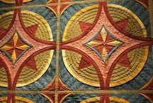 Fiber Art Weaving Quilt Felt / The love of all things fiber