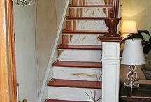 Painted Furniture and Home Decor / I am very much infatuated with painted furniture and all types of painted decor. A beautifully painted piece of furniture makes my heart fly.  / by Laurie Rohner Studio