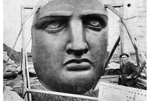 Estatua de la Libertad / Fuente: Historic American Buildings Survey/Historic American Engineering Record -  http://goo.gl/FPorw / by Patricia Damiano