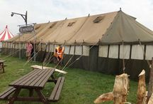 Vintage Army Tents
