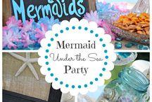 Jade's Mermaid party