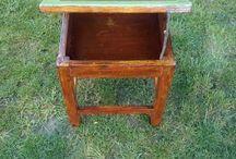 Felújított bútorok / Régi bútorok felújítása, vintage technikával.