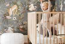 Baby room   wall covering