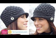 Women's peak hat