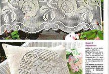 cortinas crochet patrones