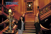 The Grand Staircase in the Titanic
